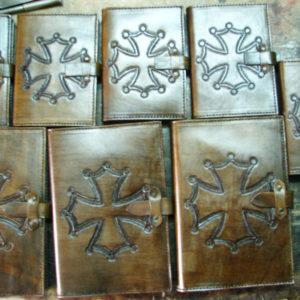 Kožené desky A6 Image