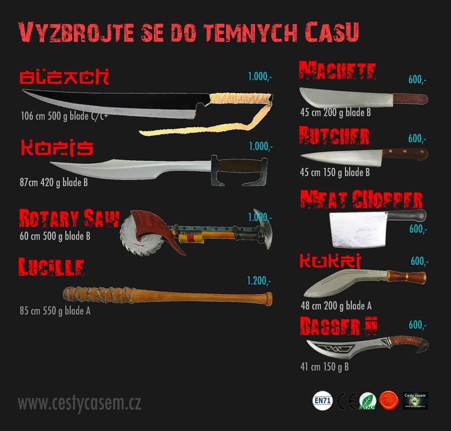 Měkčené zbraně pro postapo