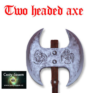 Two headed axe Image