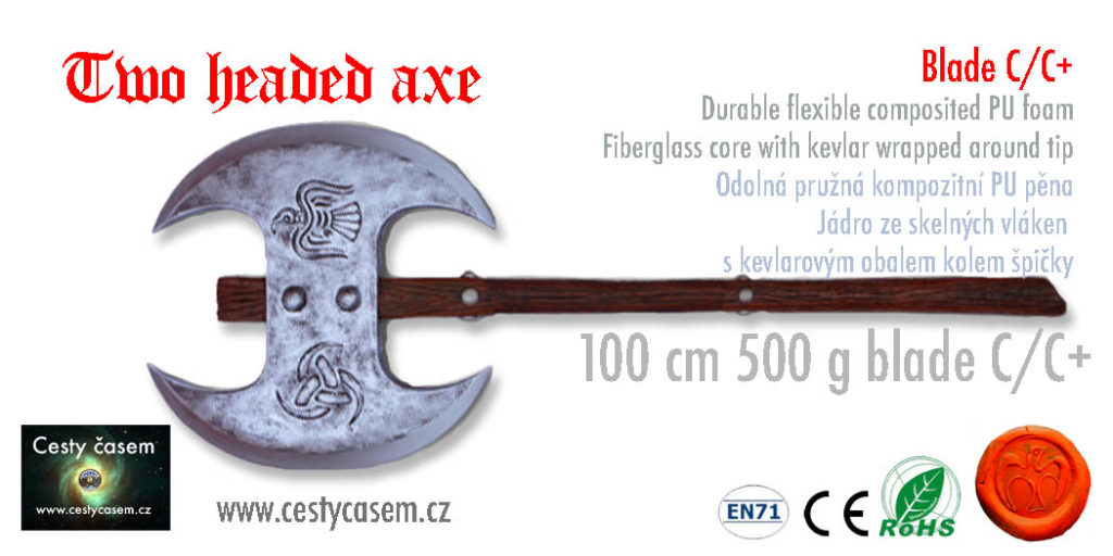 two headed axe